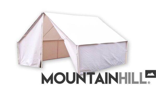 Hauszelt Wall Tent in der Größe 3,5 x 3 Meter.