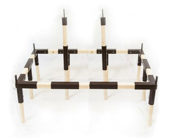 Rahmen passend für unsere Zweimast Ritterzelte wie zum Beispiel Ritterzelt Herbort.