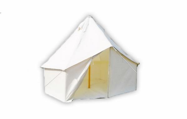 Mittelalterzelt Hexagonal 120 mit 4 Metern Durchmesser