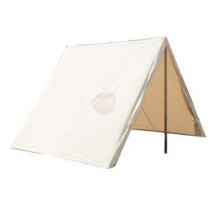 A-Zelt 190 ist ein einfaches Keilzelt aus dem Mittelalter