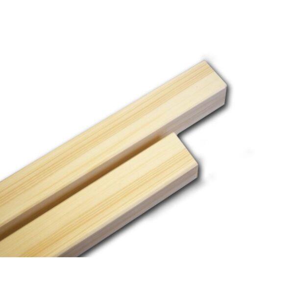 Konstruktionsholz in den Maßen 54x54mm und der Länge 125cm
