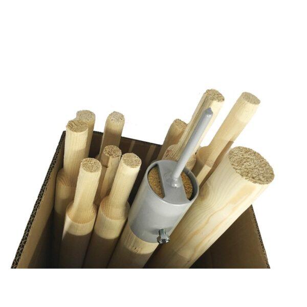 Holzstangenpaket für das A-Zelt 230.