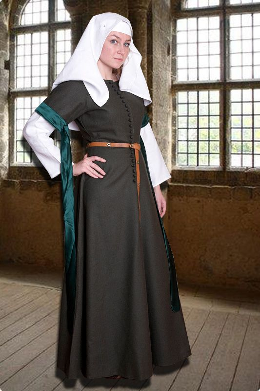 Mittelalter kleidung der frauen