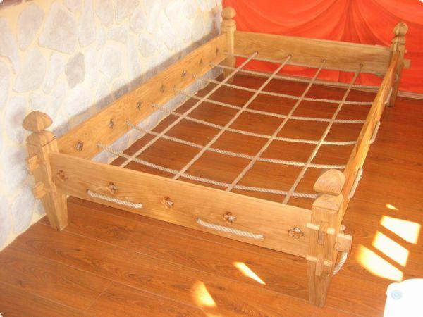 Mittelalter Bett Kaufen ~ Ritterliches eichen bett mittelalterliches steckbett