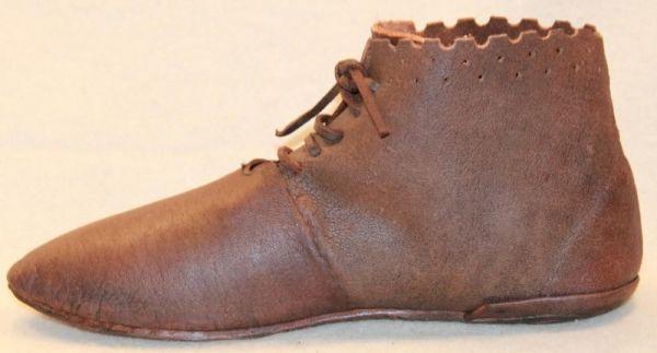 Mittelalter Schuh, Wendeschuh