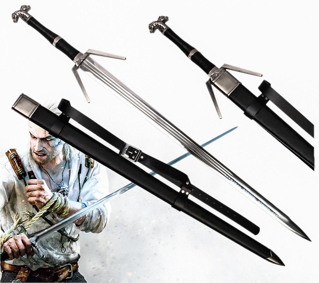 The Witcher Silver Schwert von Geralt von Riva